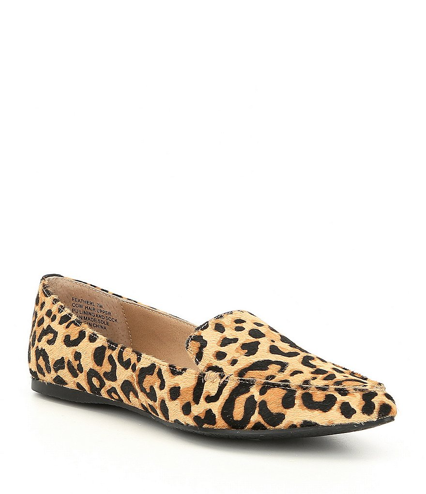 Collage Leopard Loafers