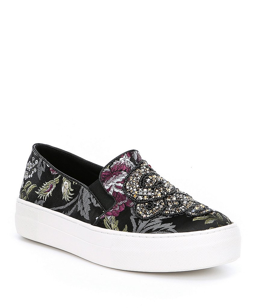 Steve Madden Fiasco Embellishment Slip-On Sneakers