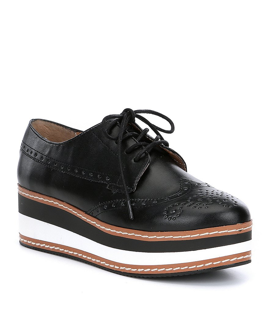 Steve Madden Greco Leather Oxfords