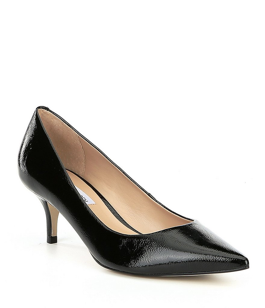 Steve Madden Sabrinah Leather Pointed Toe Pumps