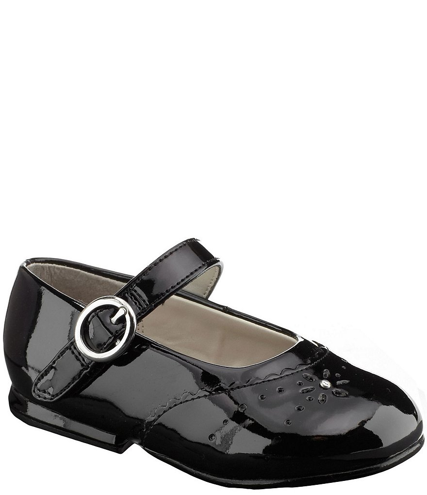 Stride Rite Girls' Camila Patent Cut Out Mary Jane Dress Shoes