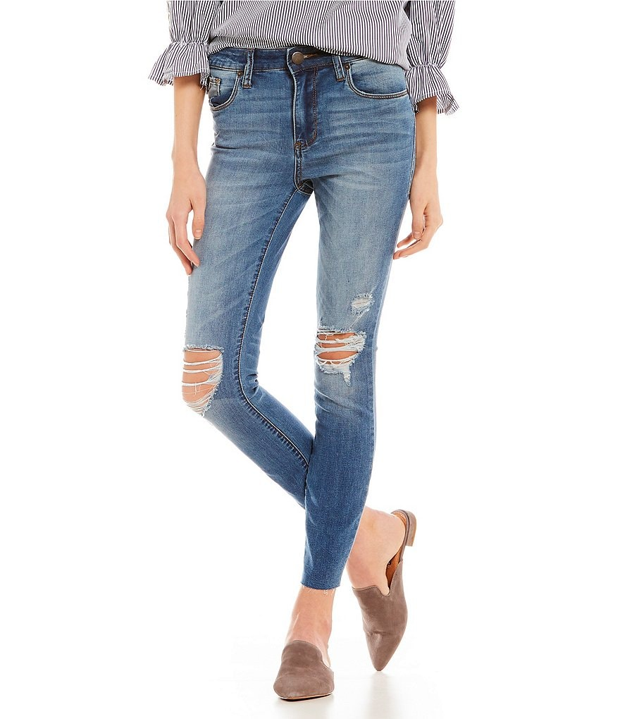 STS Blue Ellie Destructed High Rise Skinny Jeans