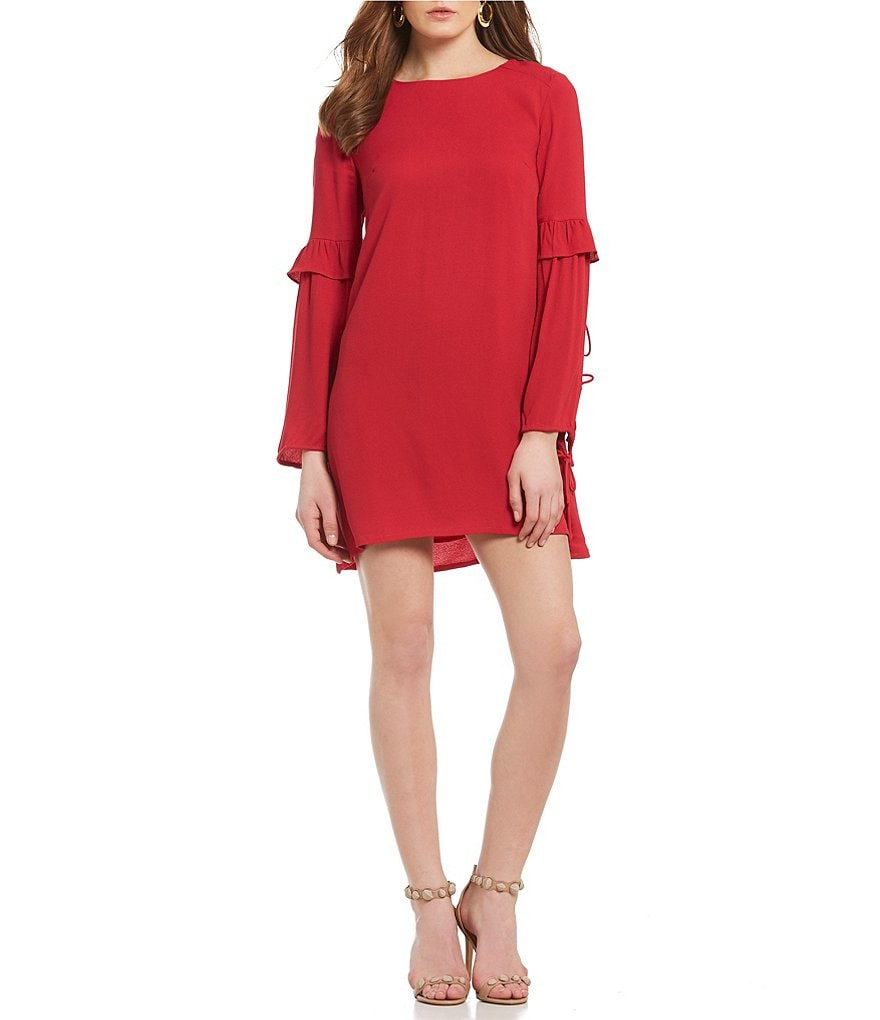 Sugarlips Isa Ruffle Shift Dress