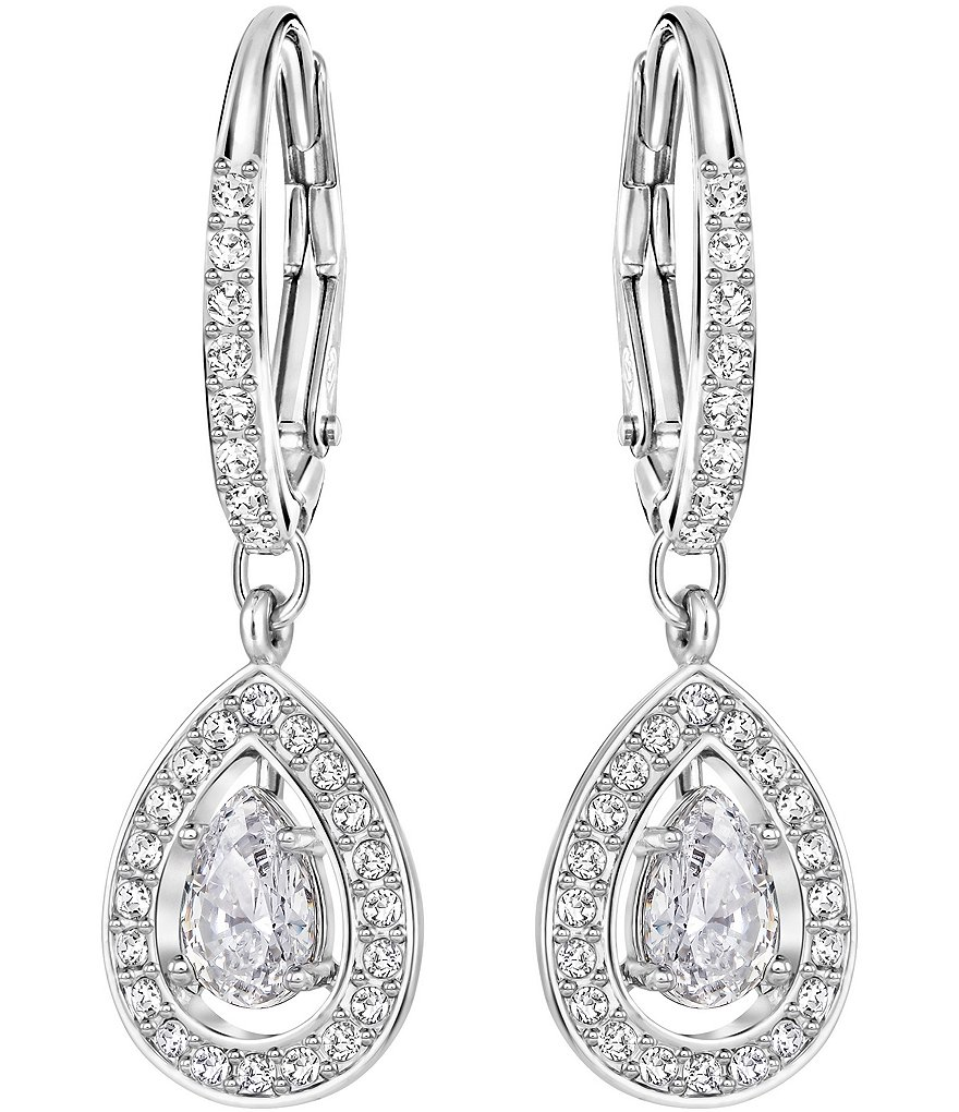 Swarovski Attract Light Drop Statement Earrings