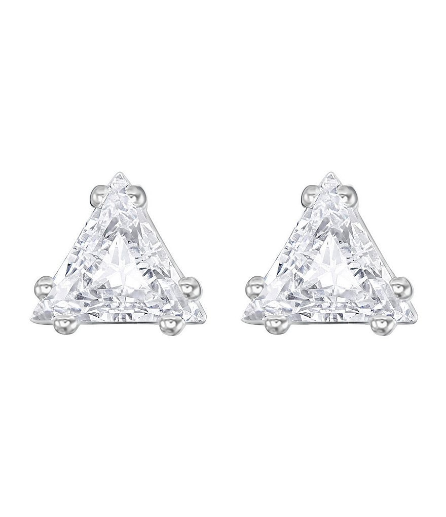 Swarovski Attract Triangle Stud Earrings