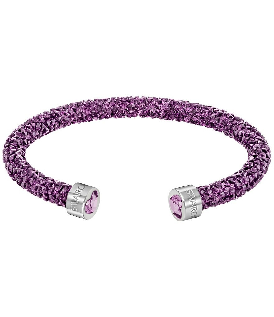 Swarovski Limited-Edition Heart Crystal Dust Cuff Bracelet