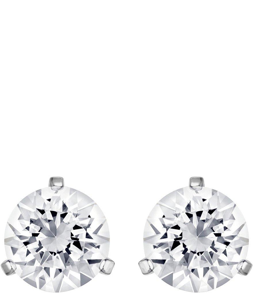 Swarovski Crystal Solitaire Earrings