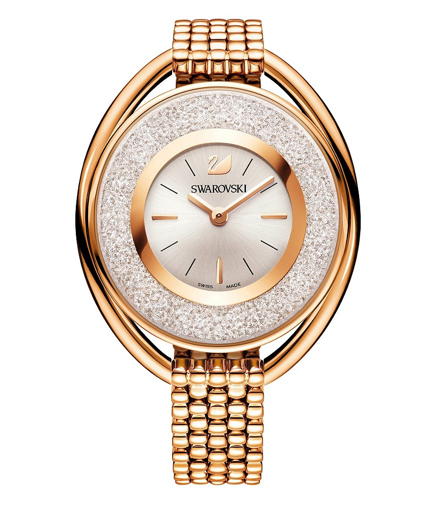 Swarovski Crystalline Oval Bracelet Watch