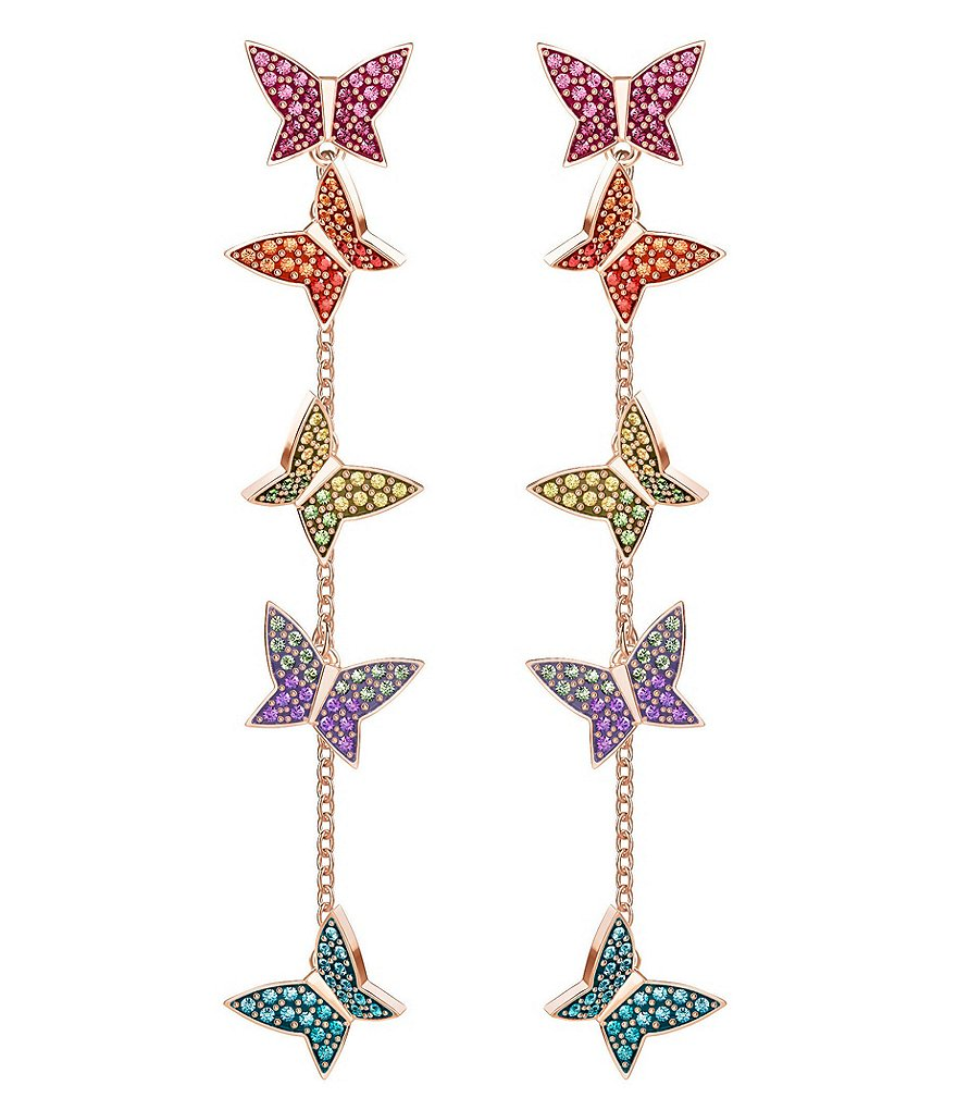 Swarovski Lilia Pierced Statement Earrings