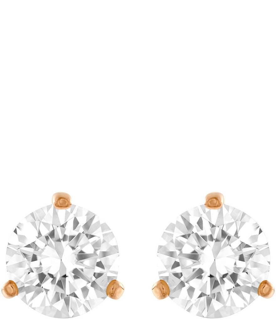Swarovski Solitaire Stud Earrings