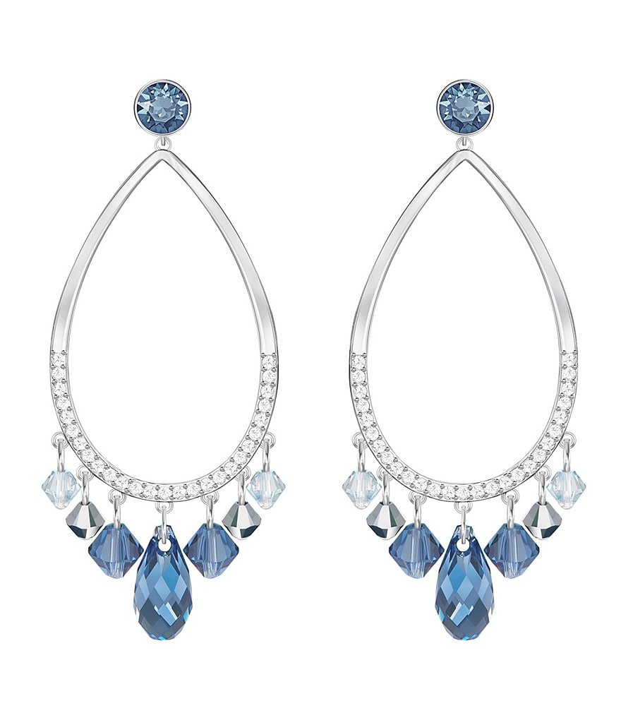 Swarovski Tosha Crystal Convertible Chandelier Statement Earrings