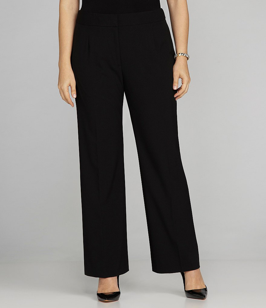 Tahari ASL Plus Trouser Pants