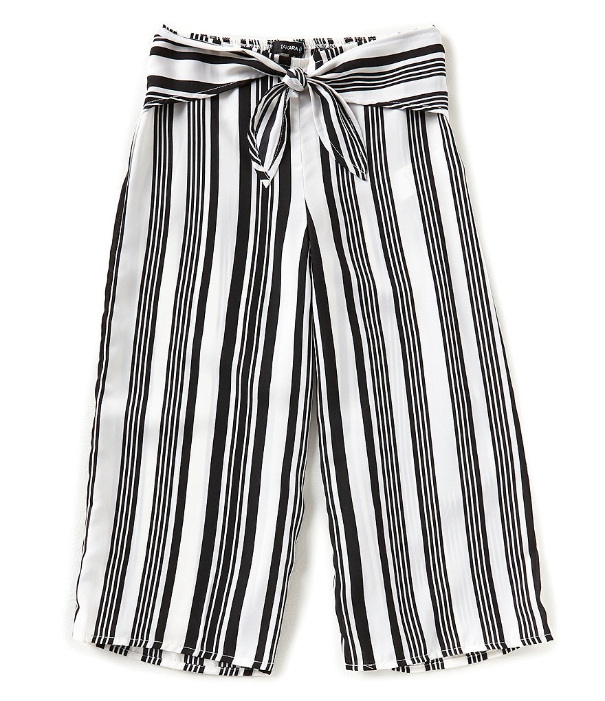 Takara Big Girls 7-16 Striped Gaucho Pants