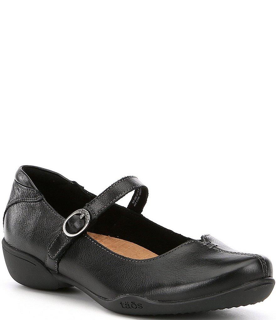 Taos Footwear Ta Dah Leather Mary Janes x2AQjl2f