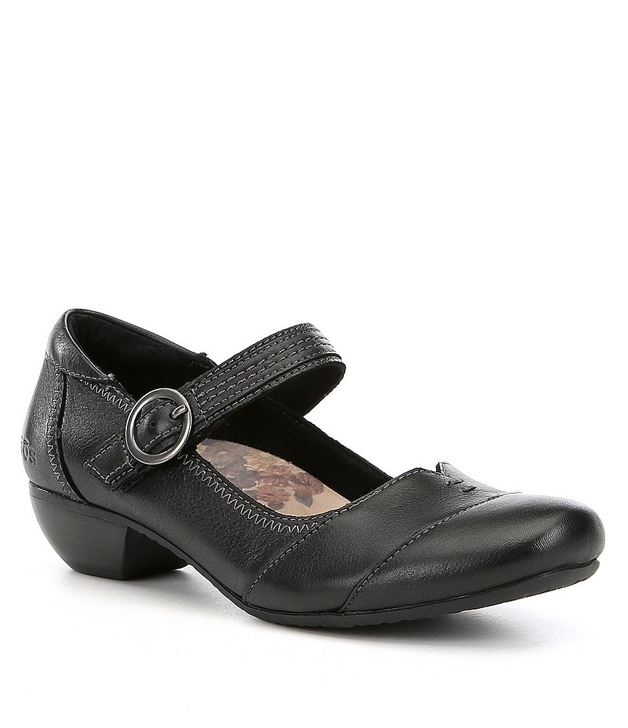 Taos Footwear Virtue Block Heel Mary Janes