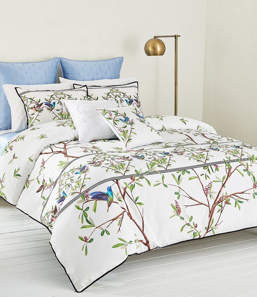 green floral ivory palace comforter bedding butterfly set p