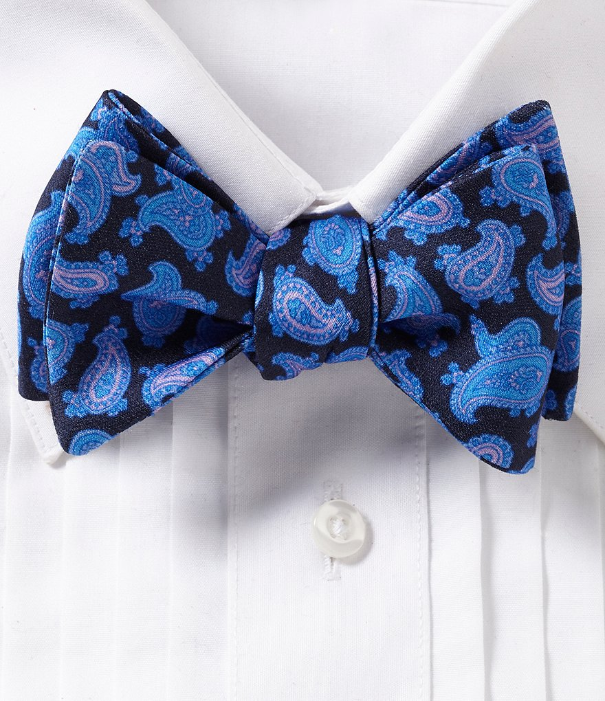 Ted Baker London Printed Pine Bow Tie