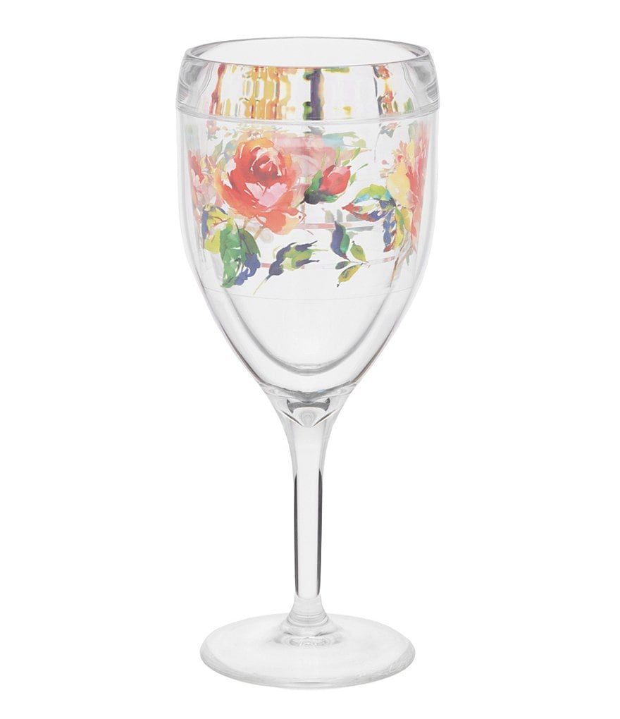 Tervis Tumblers Fiesta® Rose Wine Glass