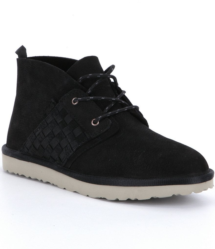 Teva Women´s Coromar Leather Woven Side Detail Lace-Up Chukka Boots