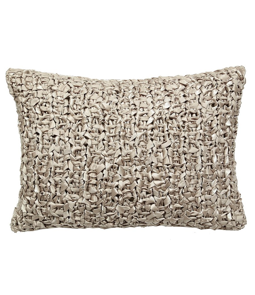 The Art Of Home From Ann Gish Ribbon Knit Pillow