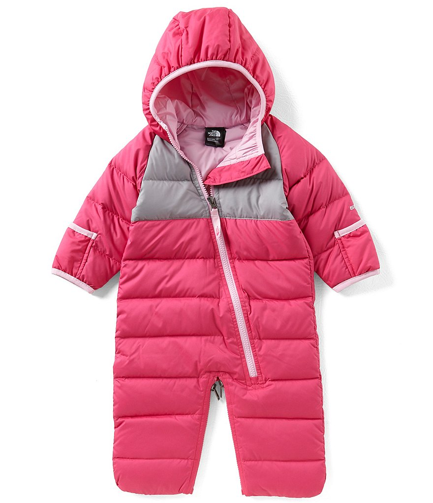 The North Face Baby Girls 3-12 Months Colorblock Bunting Coverall