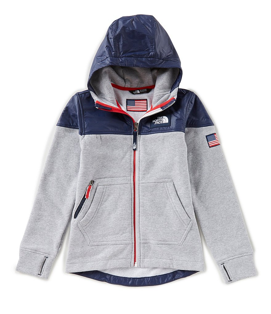 The North Face Big Boys 8-20 IC Full-Zip Hoodie Jacket
