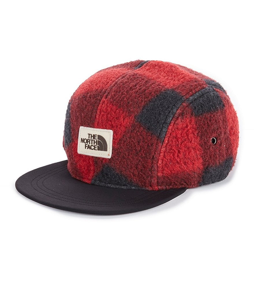 The North Face Buffalo Plaid Fleece Crusher Cap