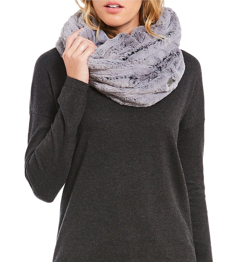 The North Face Furlander Faux-Fur & Jersey Infinity Scarf