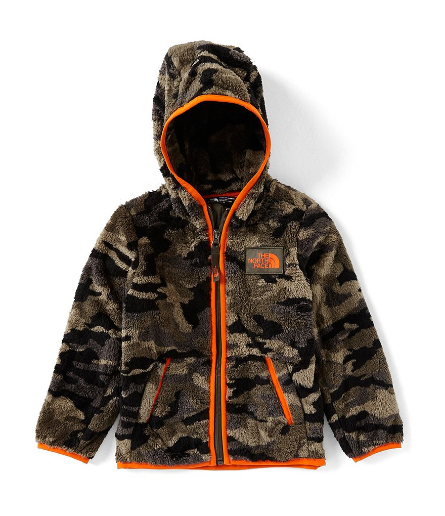 The North Face Little Boys 2T-6 Camo Print Campshire Full Zip Hoodie