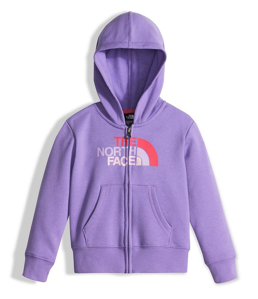 The North Face Little Girls 2T-4T Logowear Full-Zip Hoodie Jacket