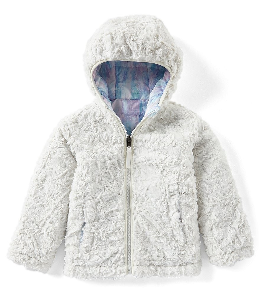 The North Face Little Girls 2T-6T Printed Reversible Mossbud Swirl Jacket