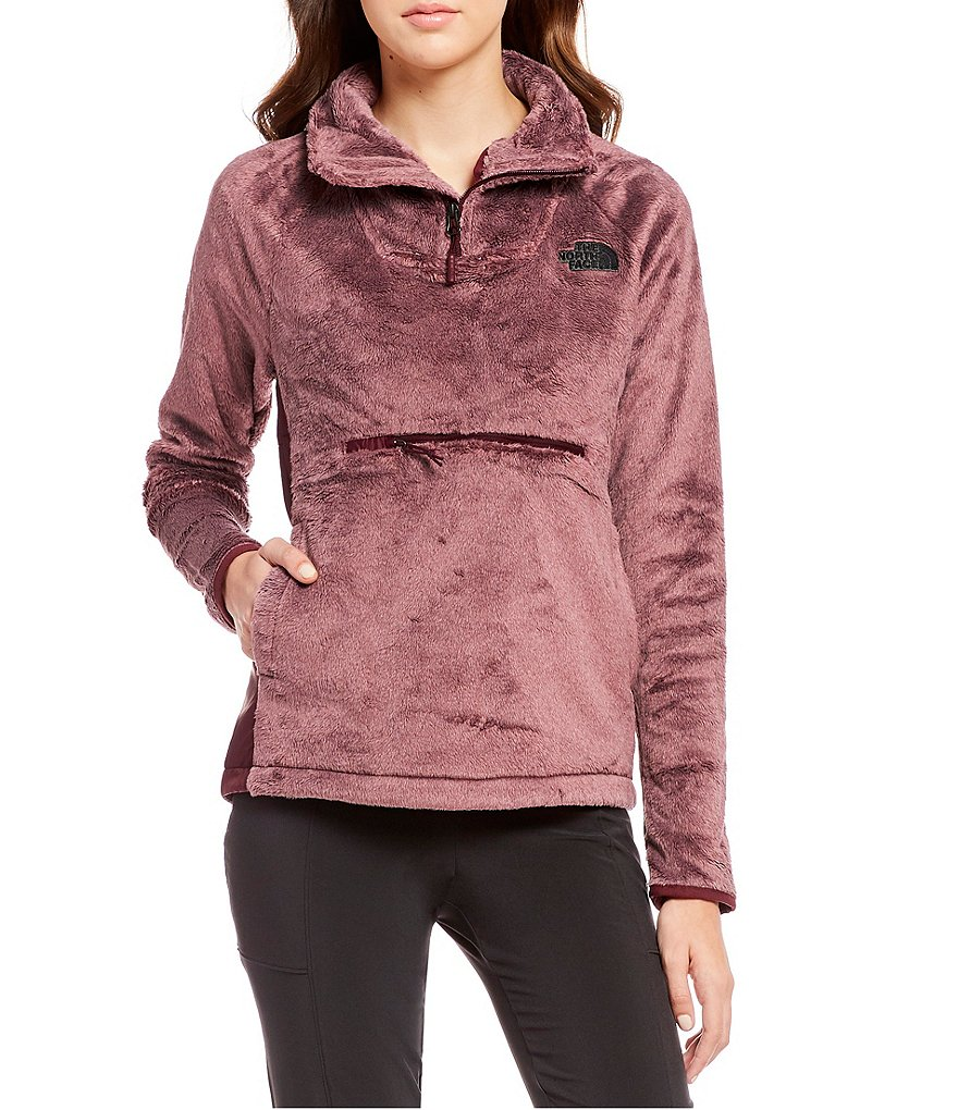 The North Face Osito Sport Hybrid 1/4 Zip Stand Collar Pullover