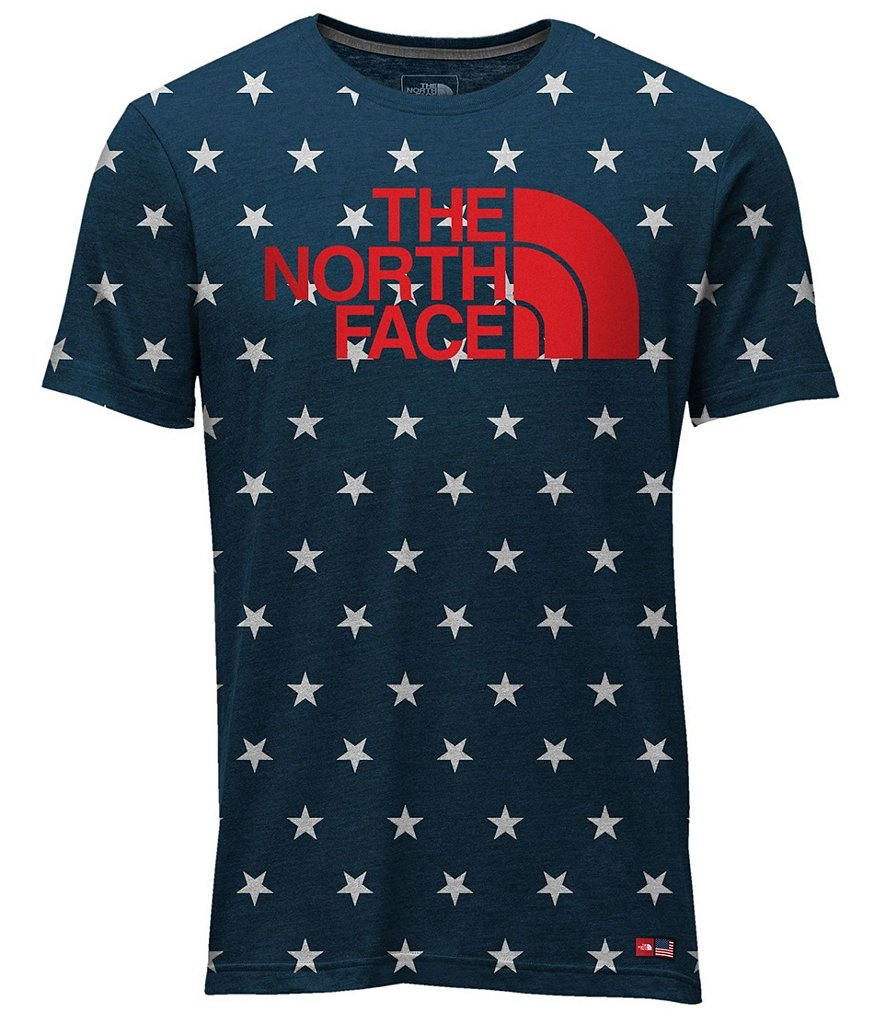 The North Face USA Tee Short-Sleeve HD Over Print T-Shirt