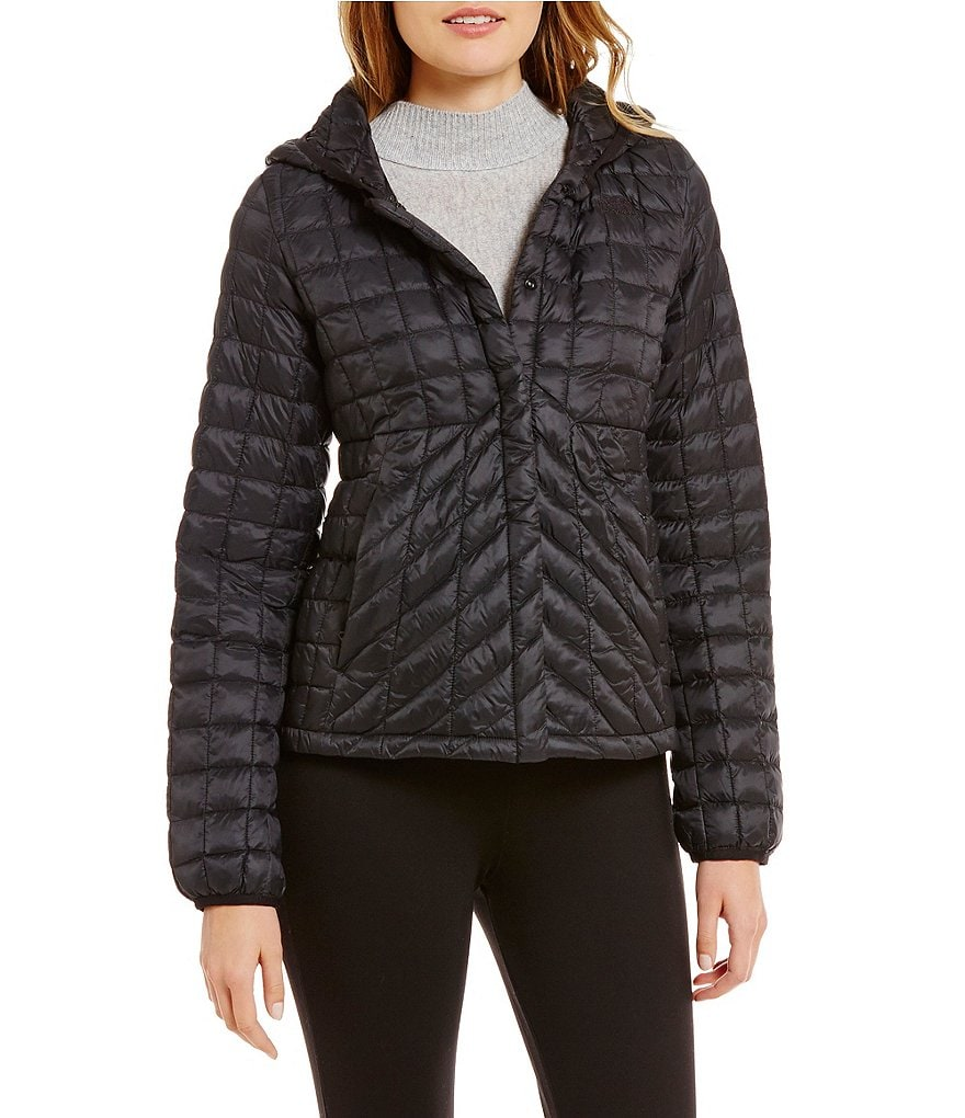 The North Face Thermoball Quilted Removable-Hood Water-Repellent Jacket