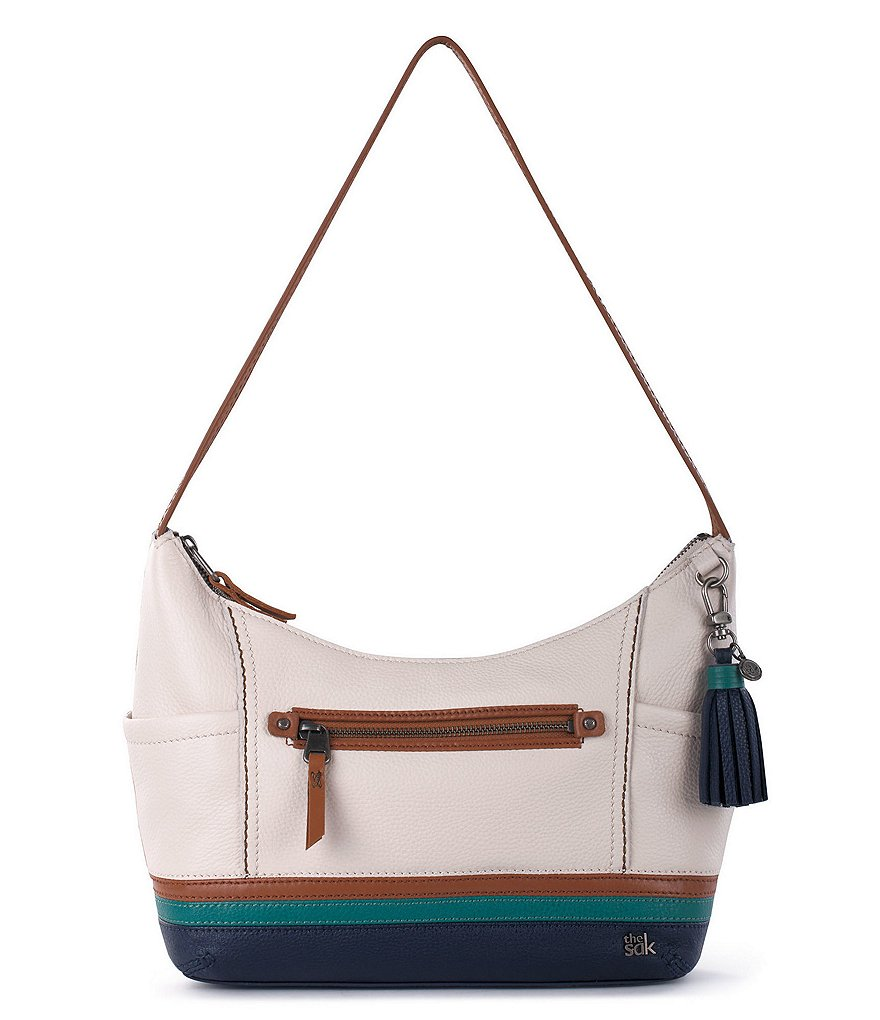 The Sak Kendra Striped Hobo Bag