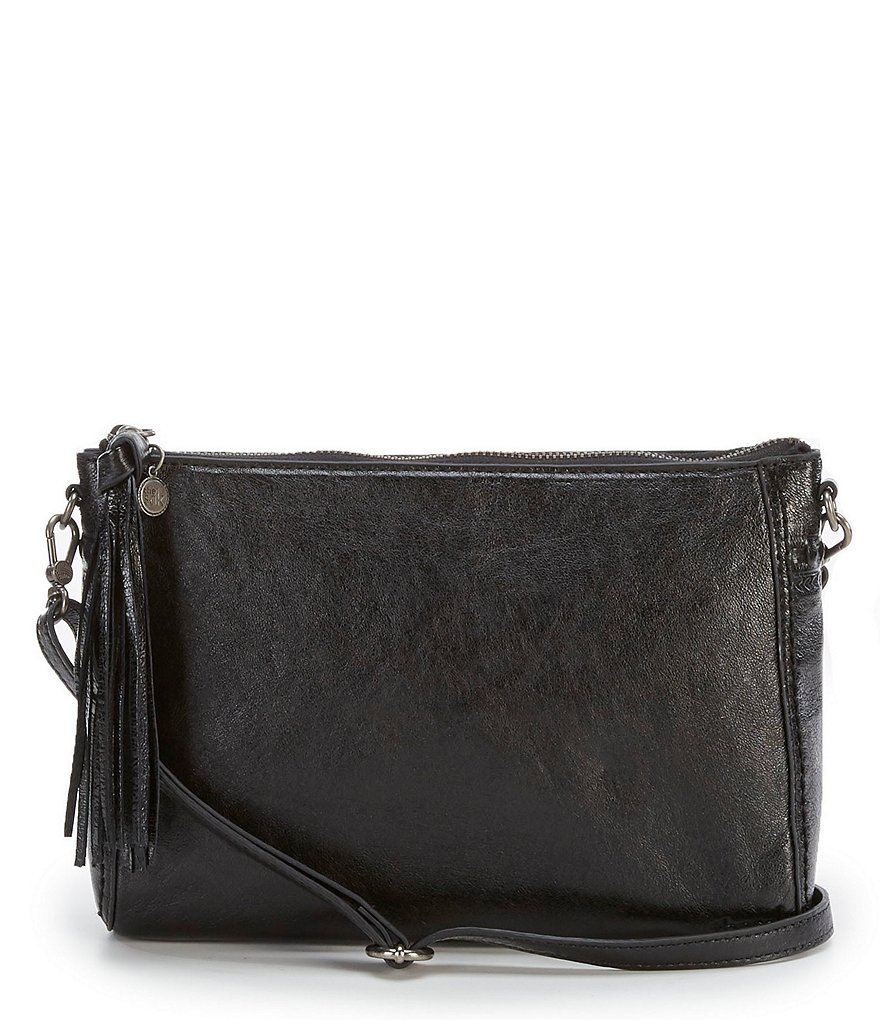 The Sak Pfieffer Demi Tasseled Embroidered Cross-Body Bag