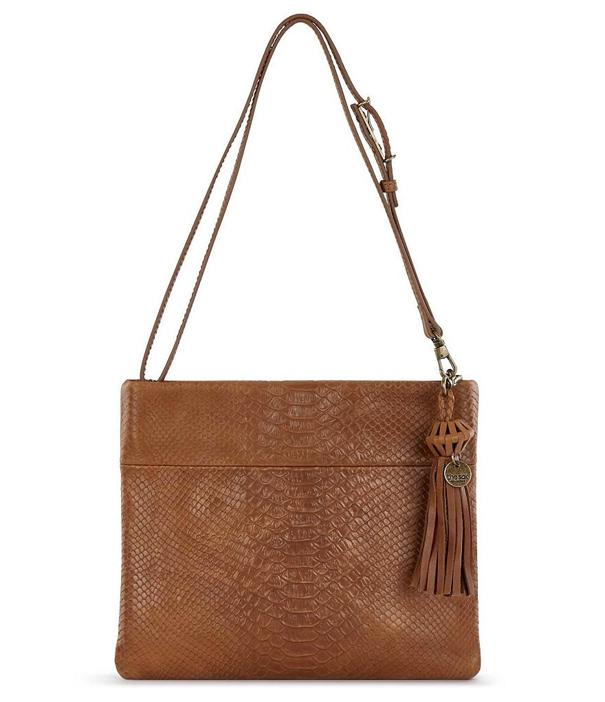 The Sak Collective Tomboy Embossed Convertible Cross-Body Bag