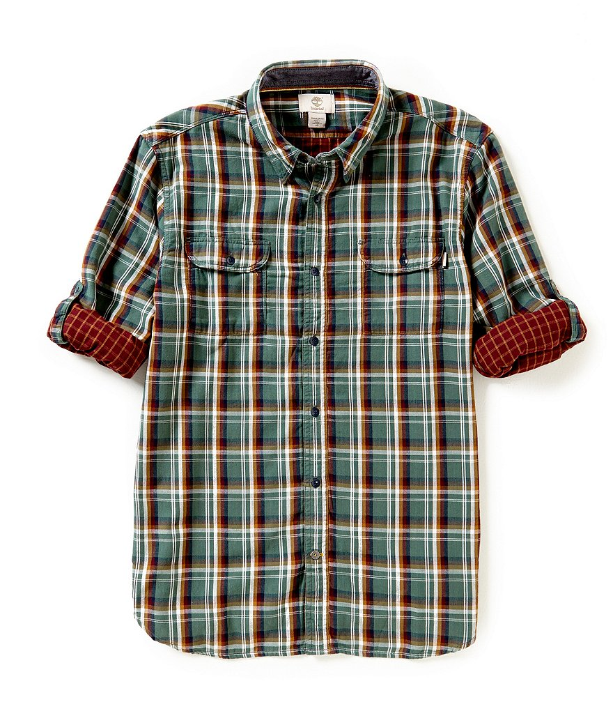 Timberland Plaid Double-Layer Shirt