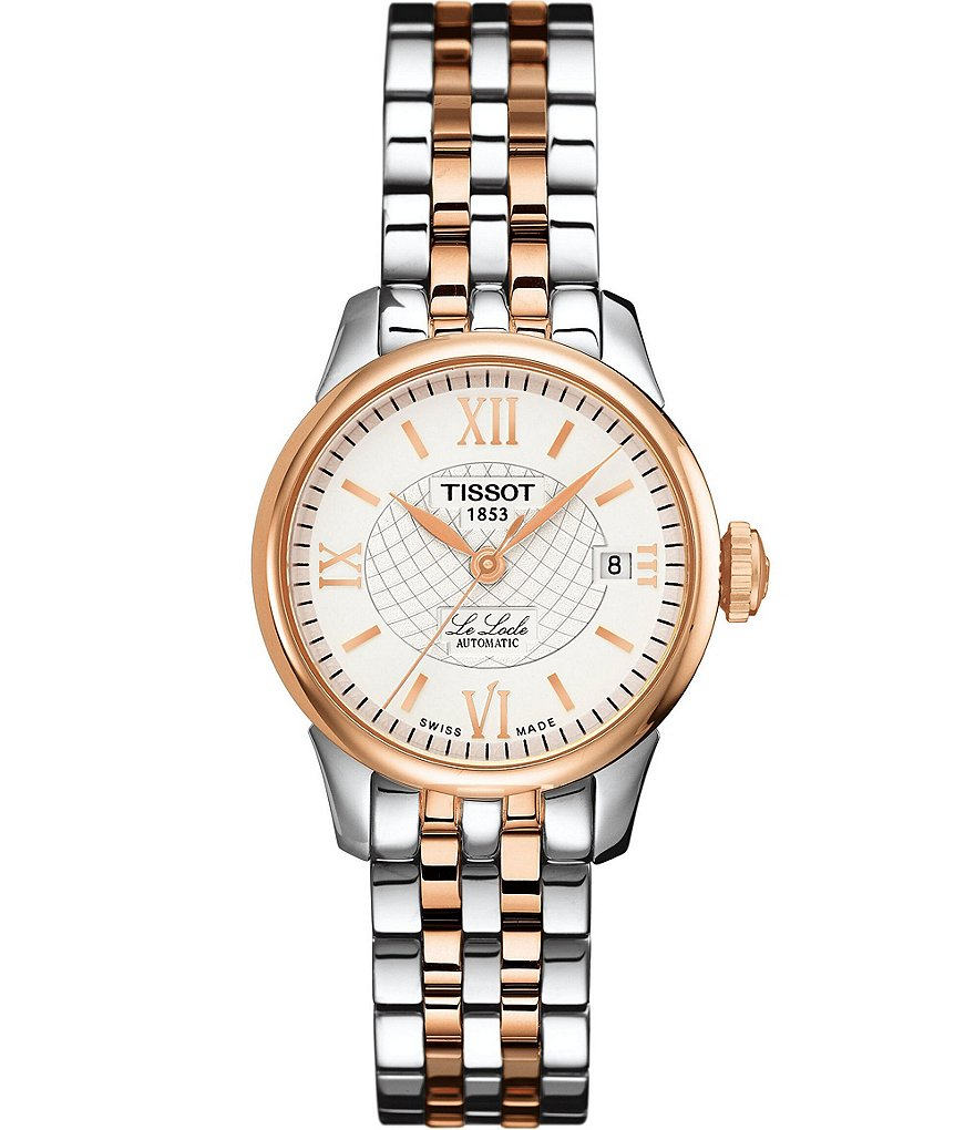 Tissot Le Locle Automatic Rose Gold Lady Watch