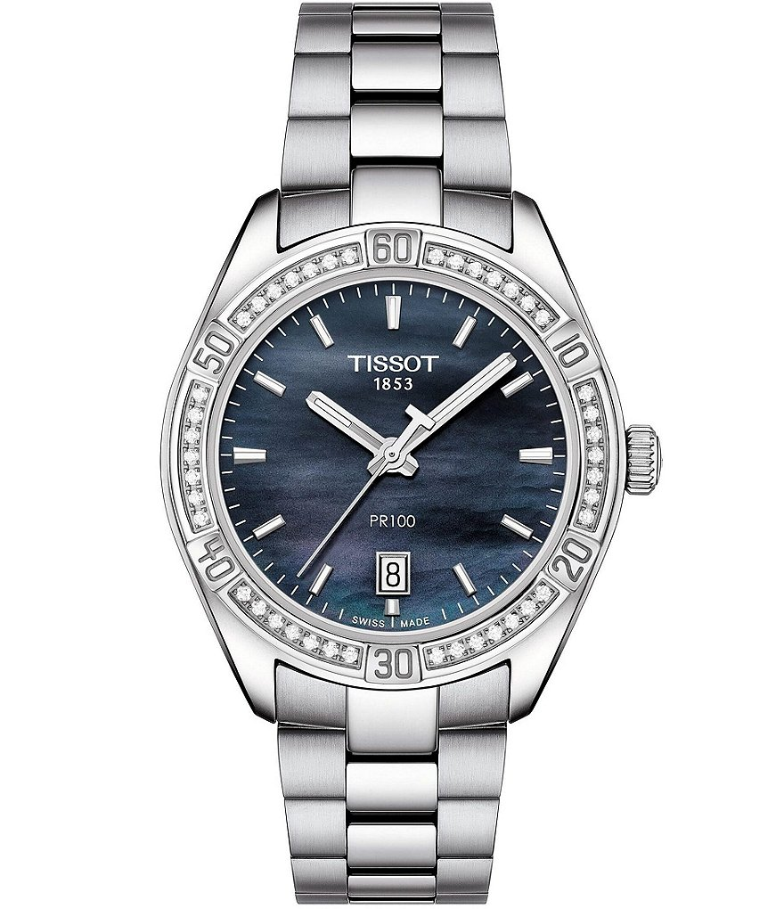 Tissot PR 100 Lady Sport Chic Blue Dial Special Edition Watch