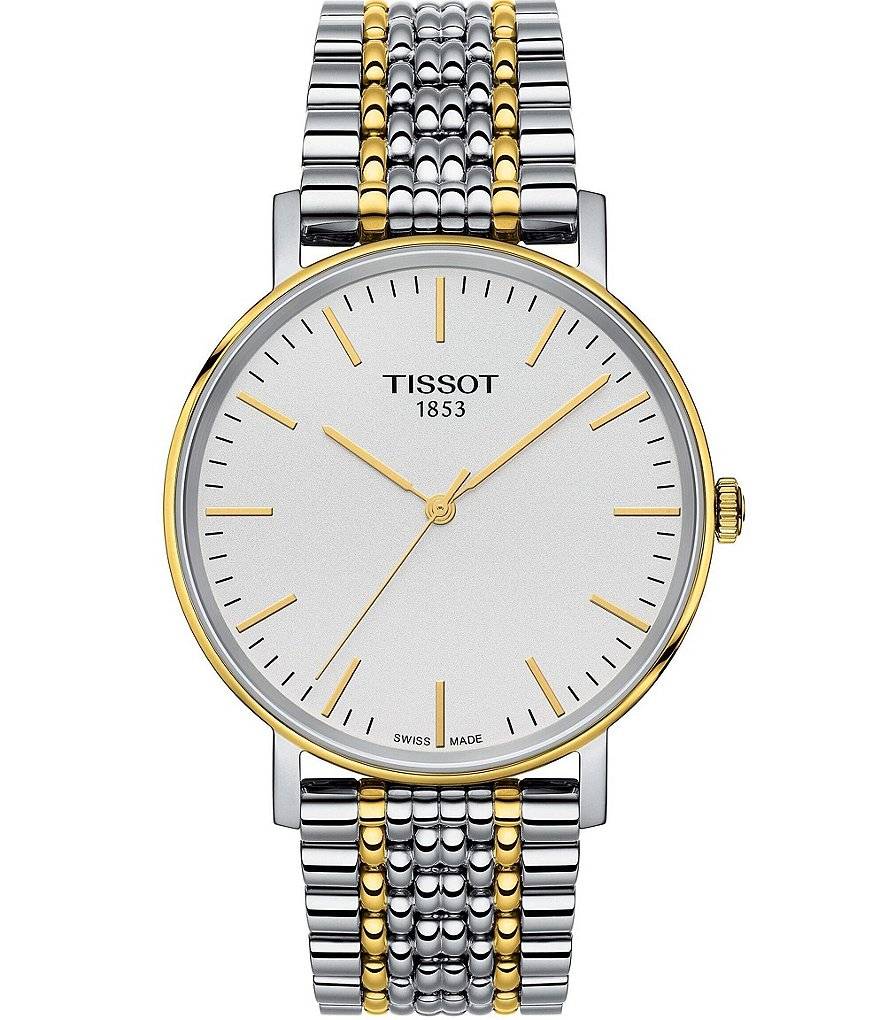 Tissot T-Classic Collection Two Tone Watch