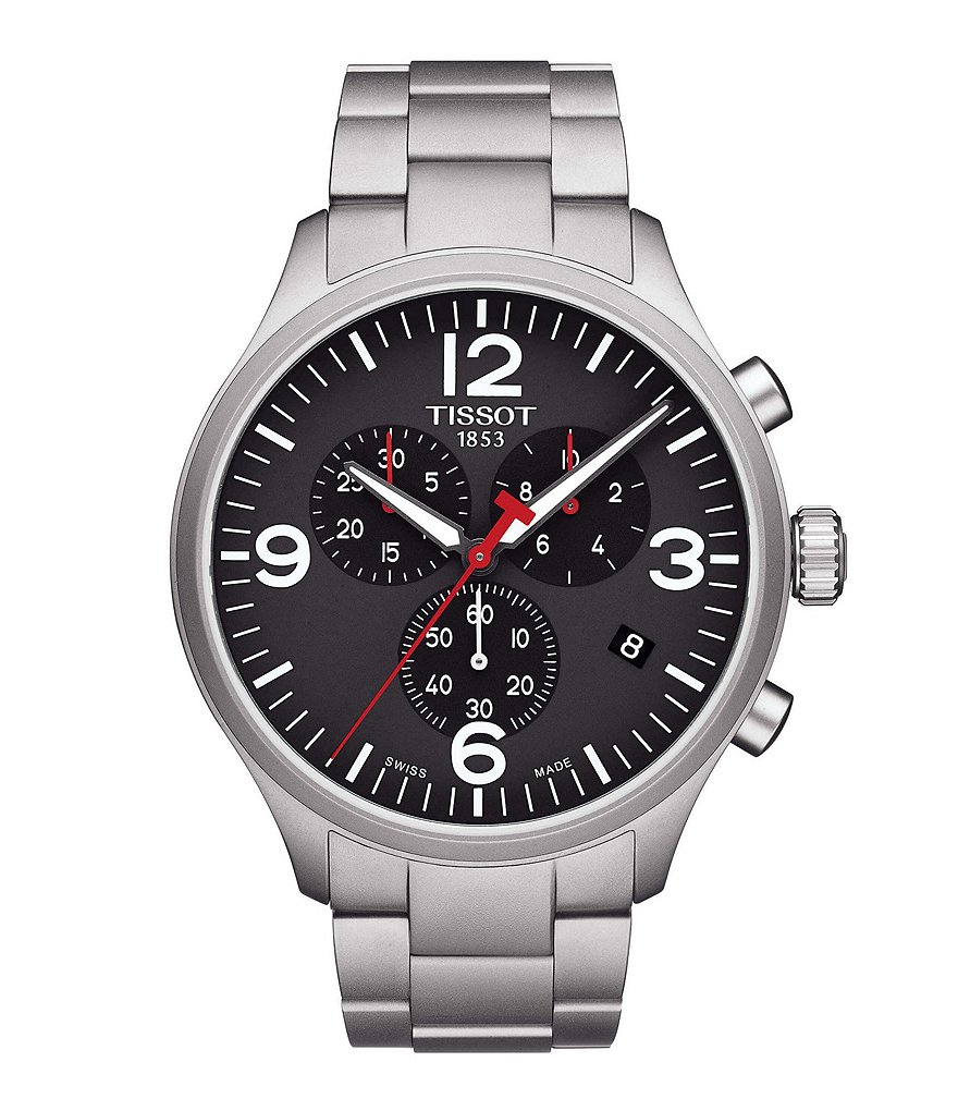 Tissot T-Sport Chrono XL Chronograph & Date Bracelet Watch