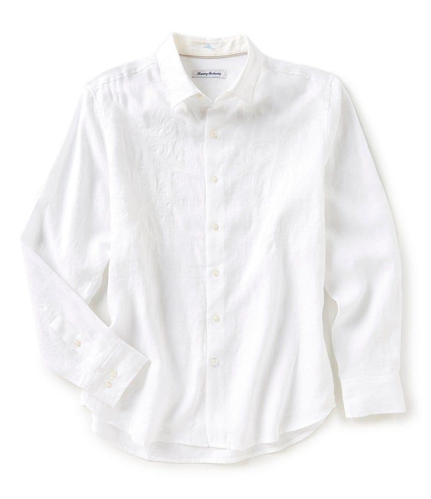 Tommy Bahama Down The Isle Long-Sleeve Woven Shirt