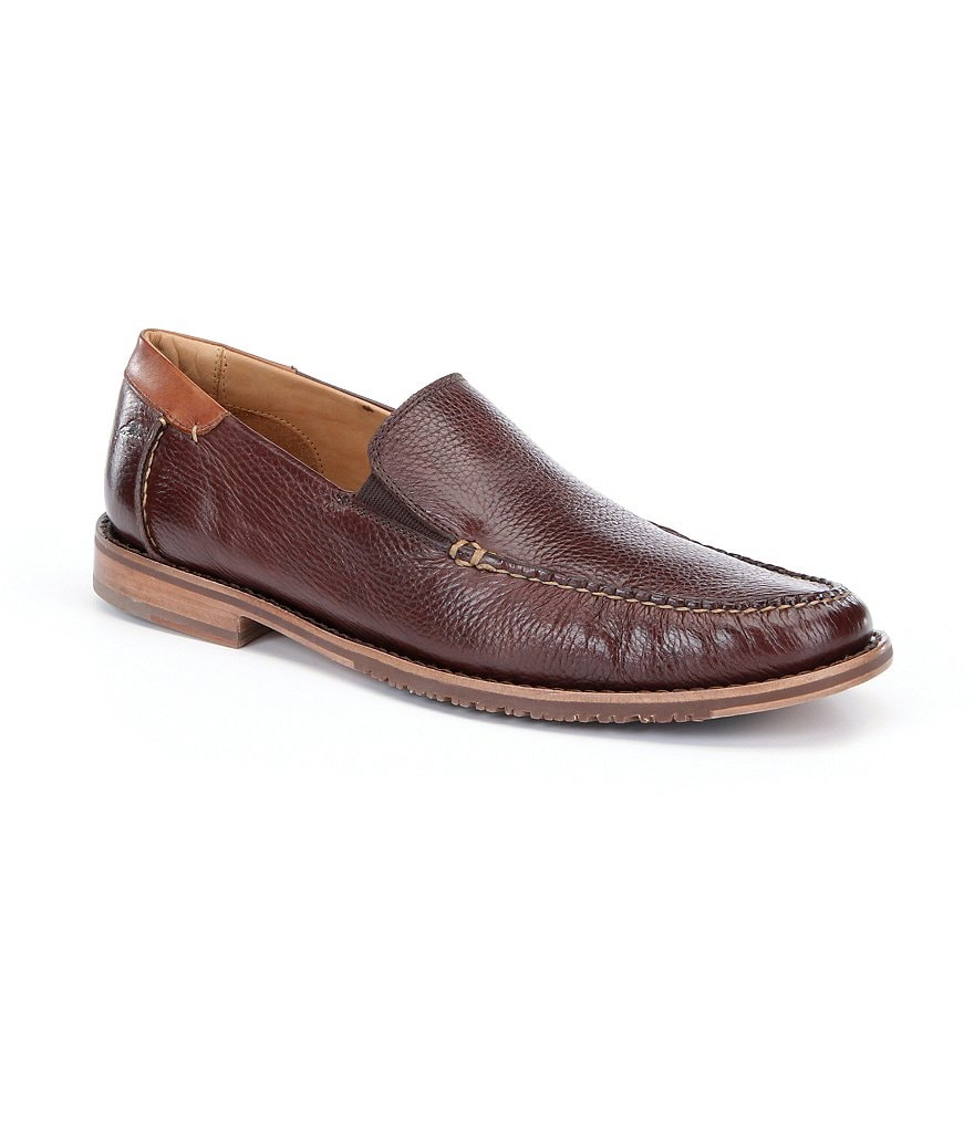 Tommy Bahama Faxon Men´s Leather Slip-On Loafers