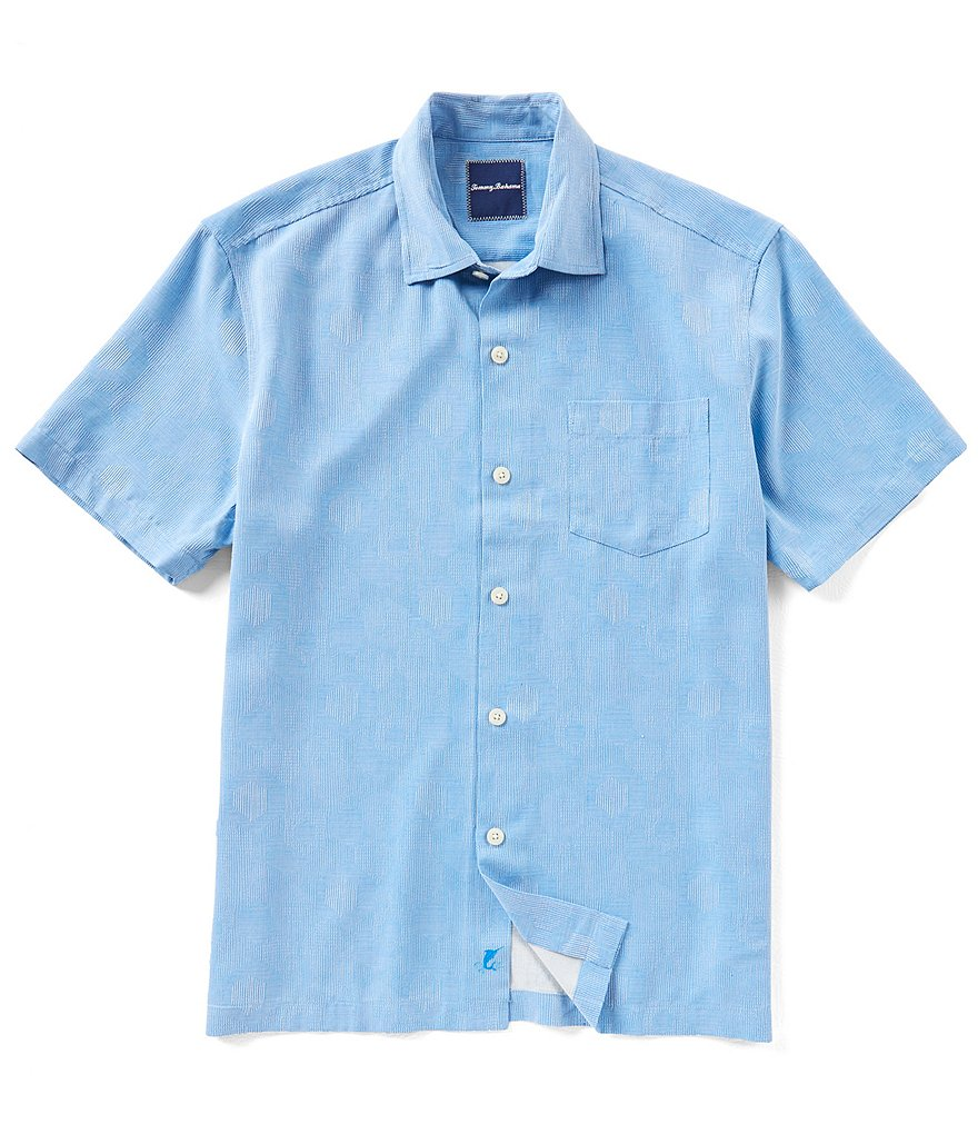 Tommy Bahama Hexagon Geo Short-Sleeve Shirt