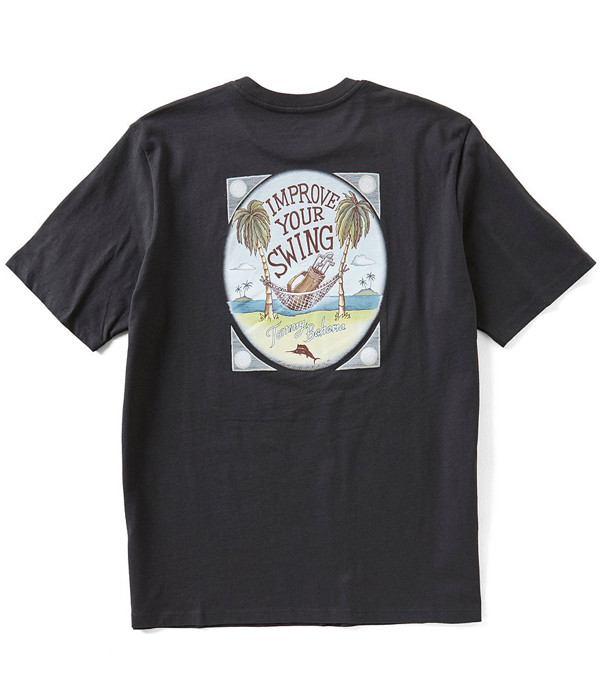 Tommy Bahama Improve Your Swing Short-Sleeve Tee