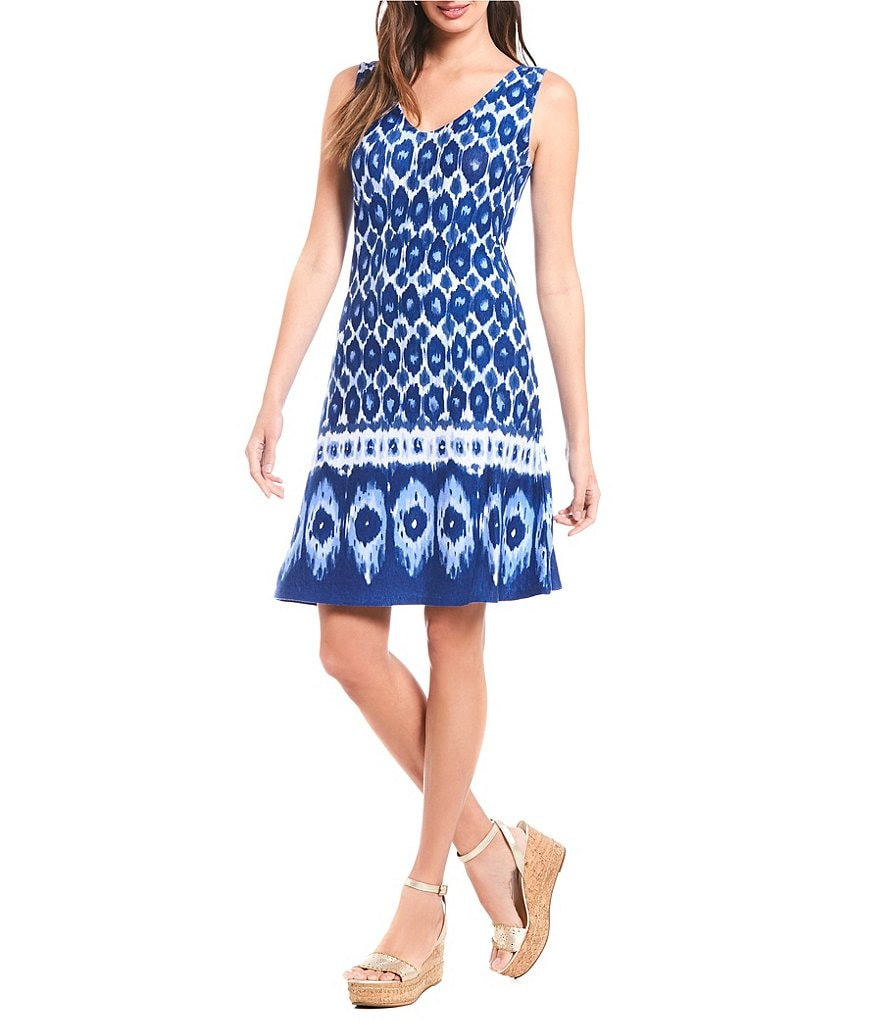 Tommy Bahama Inner Coastal Ikat Short Dress
