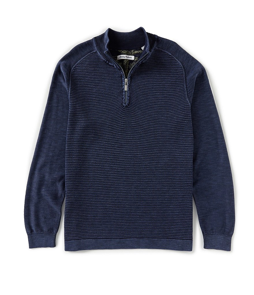 Tommy Bahama Island Tide Half-Zip Pullover