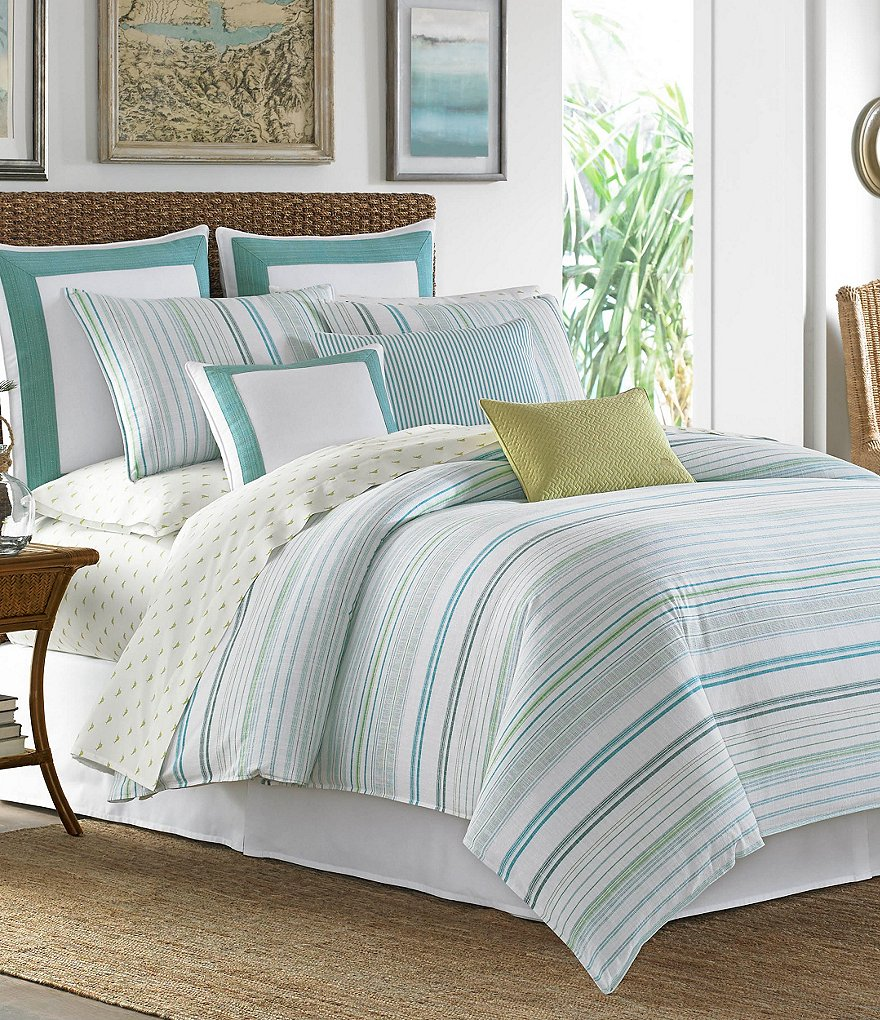 tommy bahama la scala breezer cotton comforter set
