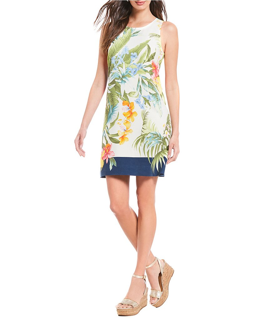 Tommy Bahama Maderia Blooms Shift Dress